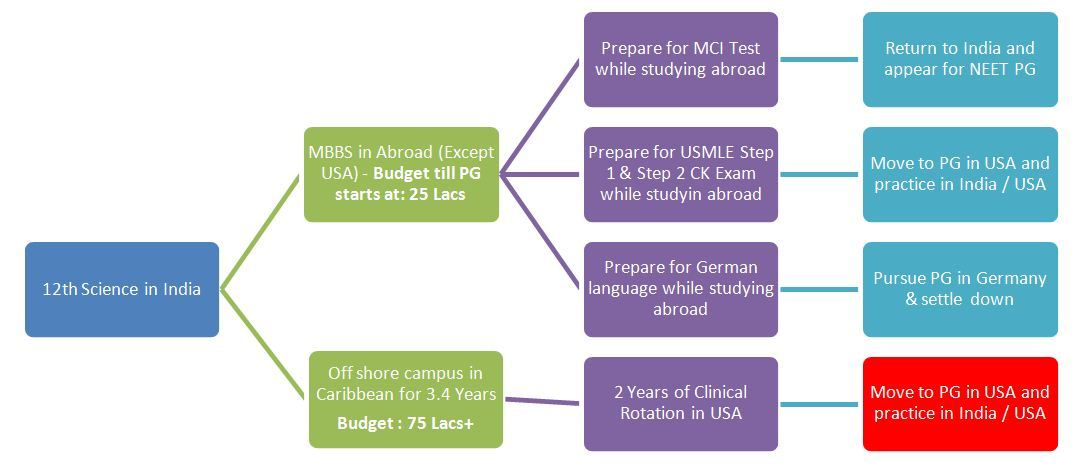 Now MBBS in India and MBBS abroad have same value with NEXT?
