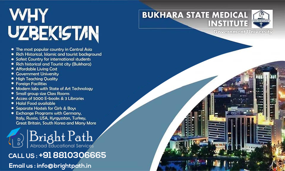 Why Study MBBS at Bukhara State Medical Institute?