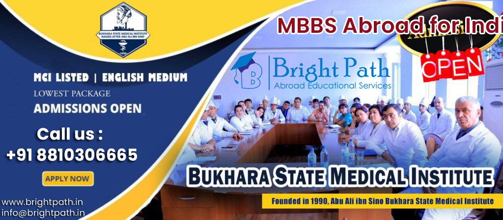 Bukhara State Medical Institute Uzbekistan Eligibility for Indian students.